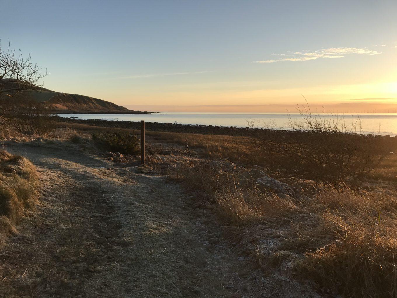 Winter Sunrise at Rascarrel Bay